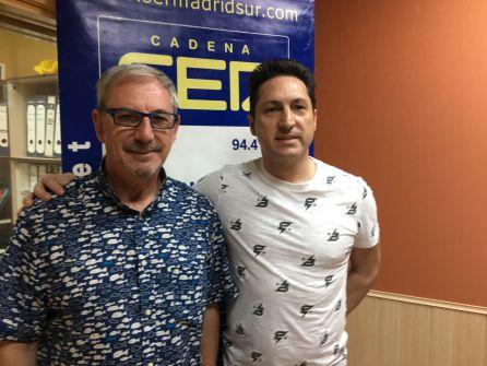Antonio Corrales (d), director del restaurante, y Juan López, responsable de marketing y eventos