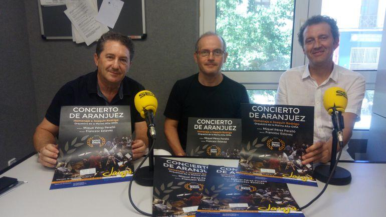 Presentación del 'Concierto de Aranjuez' organizado por la Fundació Dénia.