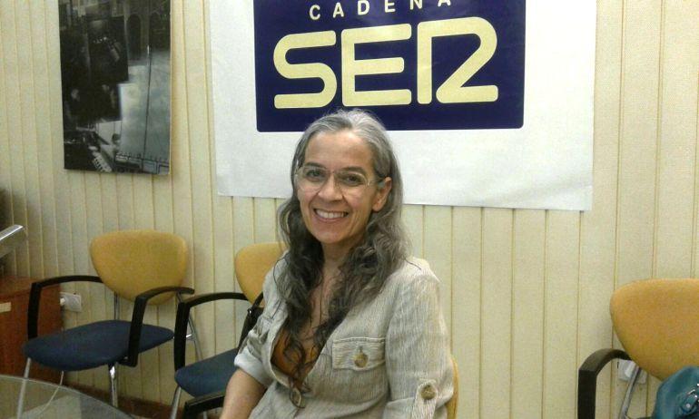 La diseñadora Regla Valverde, en Radio Jerez