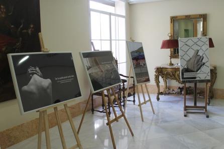 Algunas de las imágenes de la exposición 'Miradas que migran'