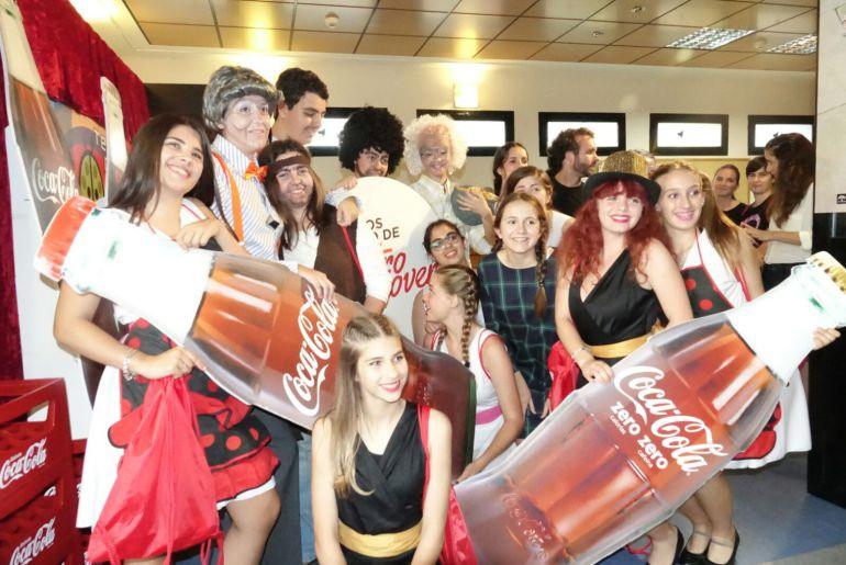 El Cánovas acogió los premios 'Buero' de teatro joven de la Fundación Coca-Cola