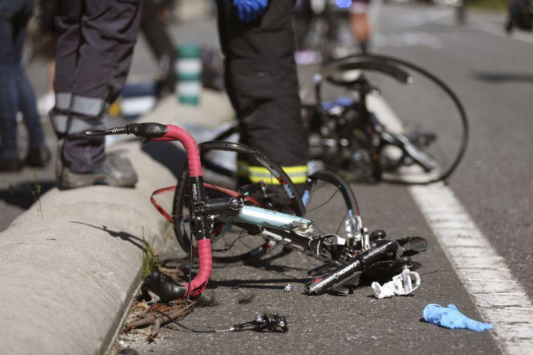 Imagen de archivo de un accidente ocurrido en la provincia