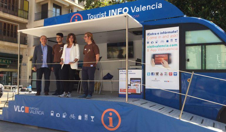 aumentan las visitas a las oficinas de turismo de valencia