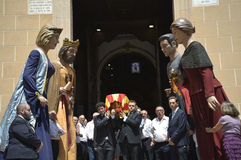Misa funeraria en honor a Pasqual Batalla