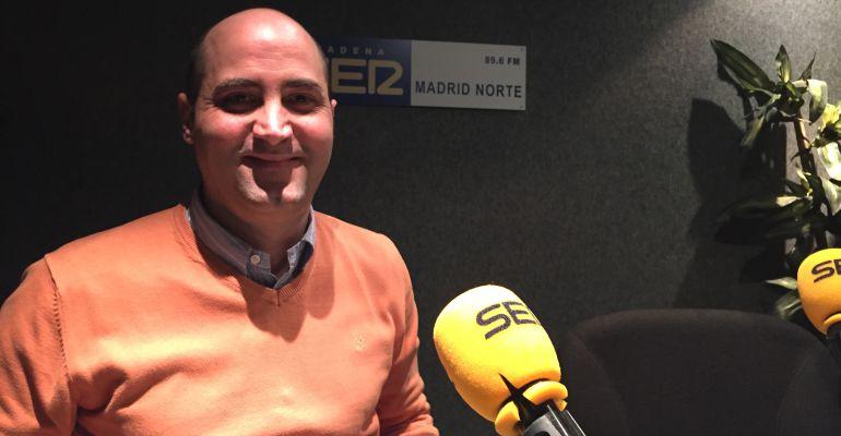 Jorge García, alcalde de Colmenar Viejo en los estudios de SER Madrid Norte