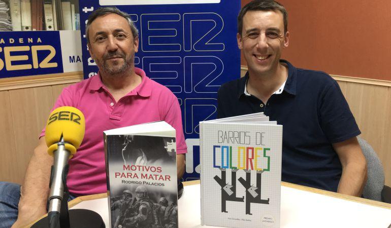 Rodrigo Palacios y su libro 'Razones para matar'
