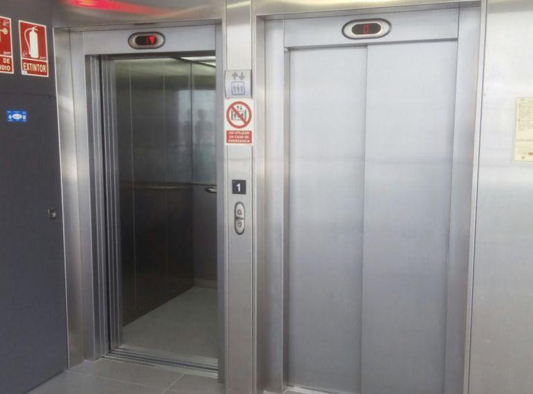 Estos son los ascensores del hospital de la Serranía de Ronda (Málaga)