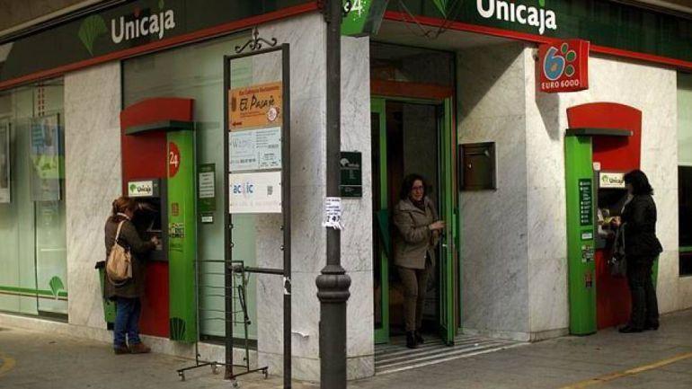 Una de las sucursales de la entidad con sede en Málaga