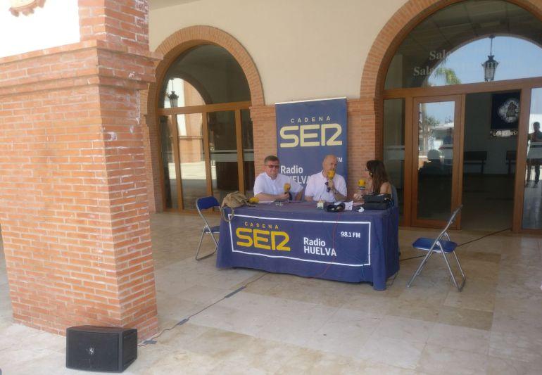Hoy por Hoy Huelva desde Palos de la Frontera por el Corpus Christi