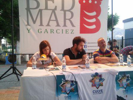 Momento de la intervención de la COncejala de Juventud y Festejos, María Trinidad Torres