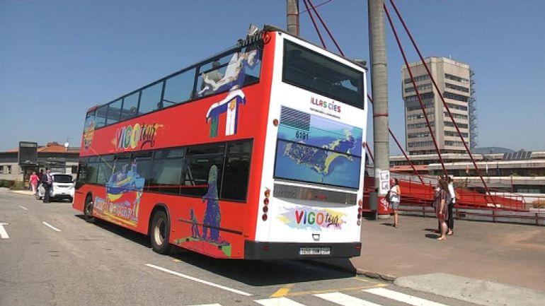 La nueva imagen del autobús turístico de Vigo