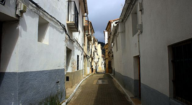 Calles de Cañete.
