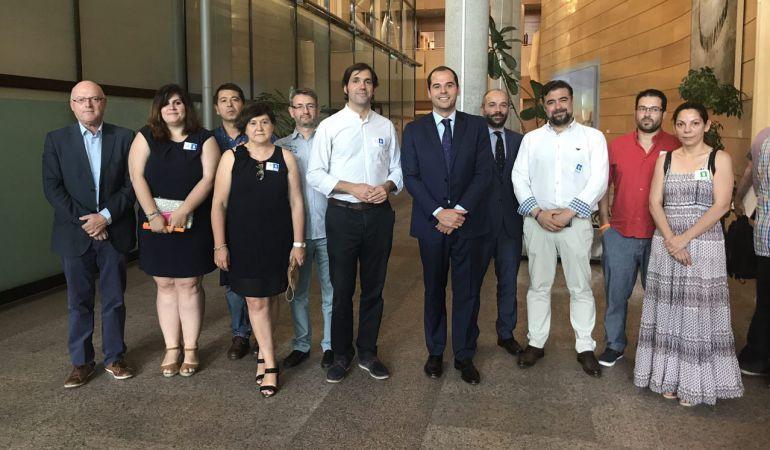 El gobierno de Valdemoro ha estado junto a los diputados de su grupo en la Asamblea de Madrid