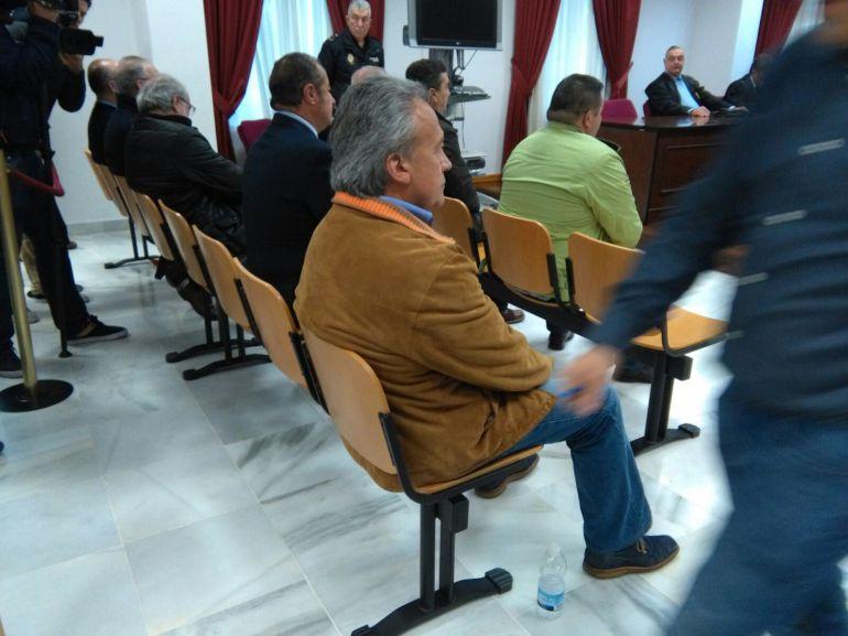 Pedro Pacheco durante el juicio en la Audiencia Provincial
