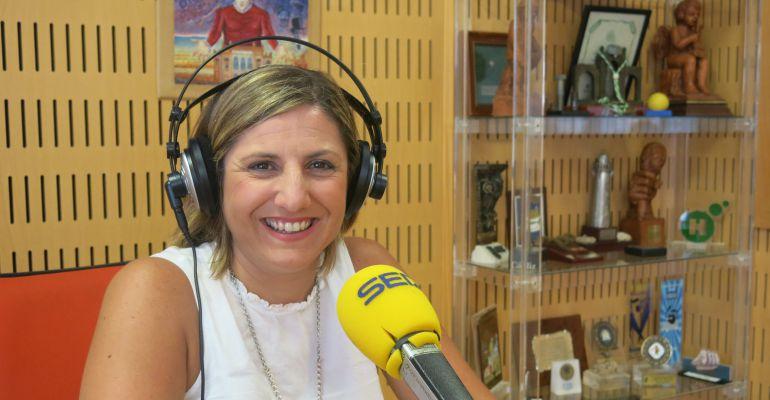 La secretaria provincial del PSOE, Irene García, en Radio Cádiz