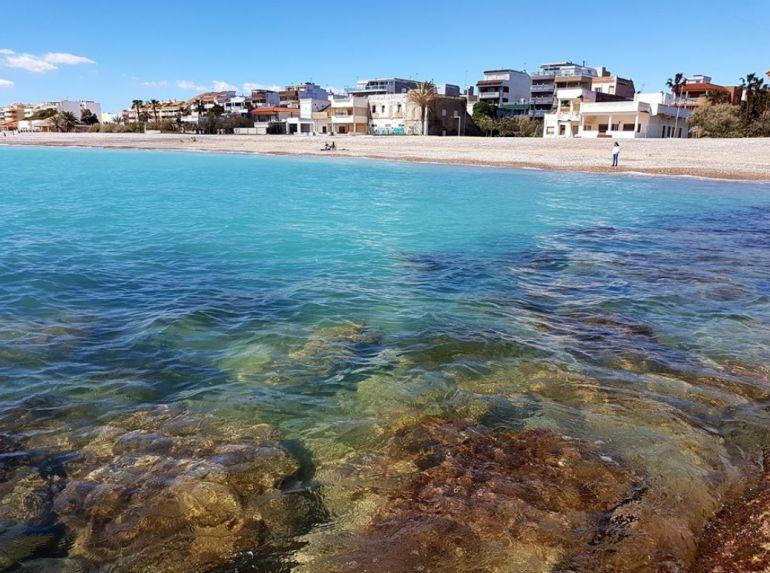 Imagen de la costa de Moncofa