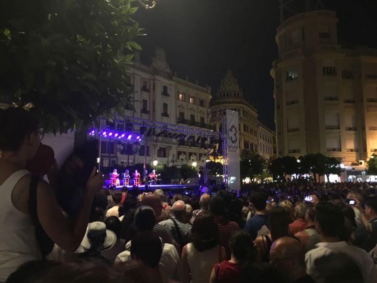 Concierto inaugural de la Noche Blanca del Flamenco 2017