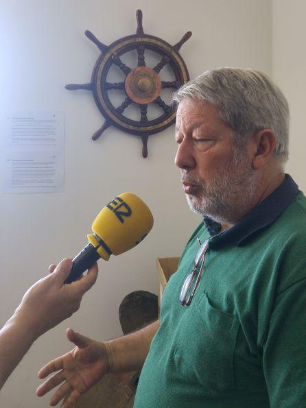 José de Vigo y el timón del Rio Jordán