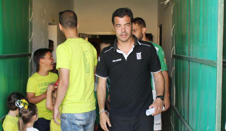 José Pérez Herrera en su etapa como entrenador del Sanluqueño