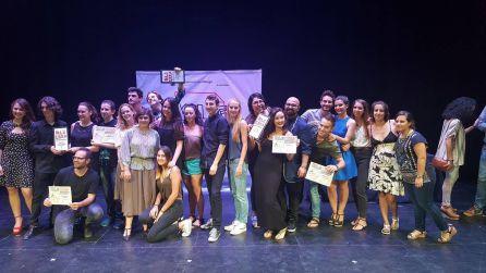 Foto de familia con todos los premiados