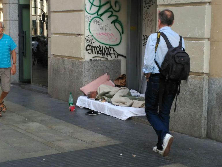 """Pobreza Mendicidad: """"Tengo que sobrevivir, no me queda otra"""""""