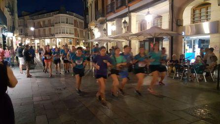 La Calle Mayor de Palencia lucía un aspecto espléndido