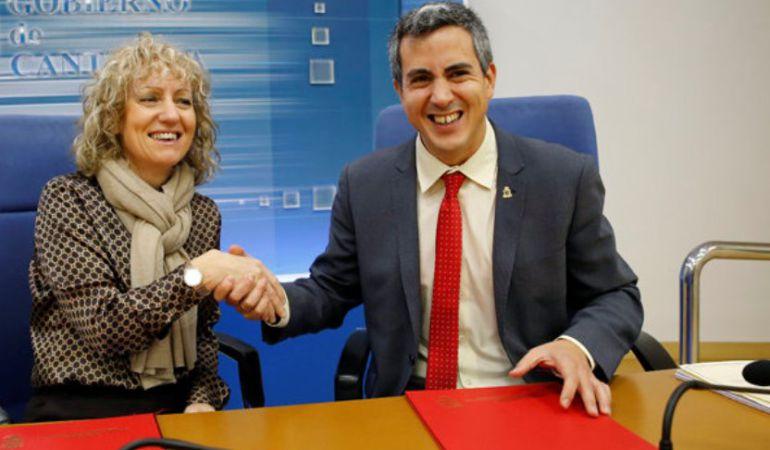 Eva Díaz Tezanos y Pablo Zuloaga.