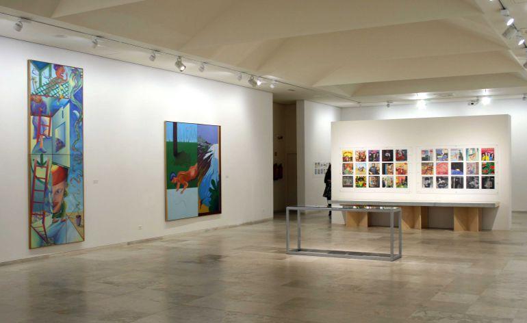 Una de las salas del Museo de Arte Contemporáneo Patio Herreriano de Valladolid