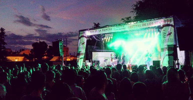 Uno de los conciertos del festival rodense