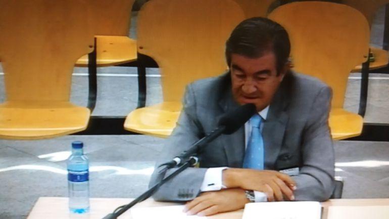 Francisco Álvarez-Cascos durante su declaración