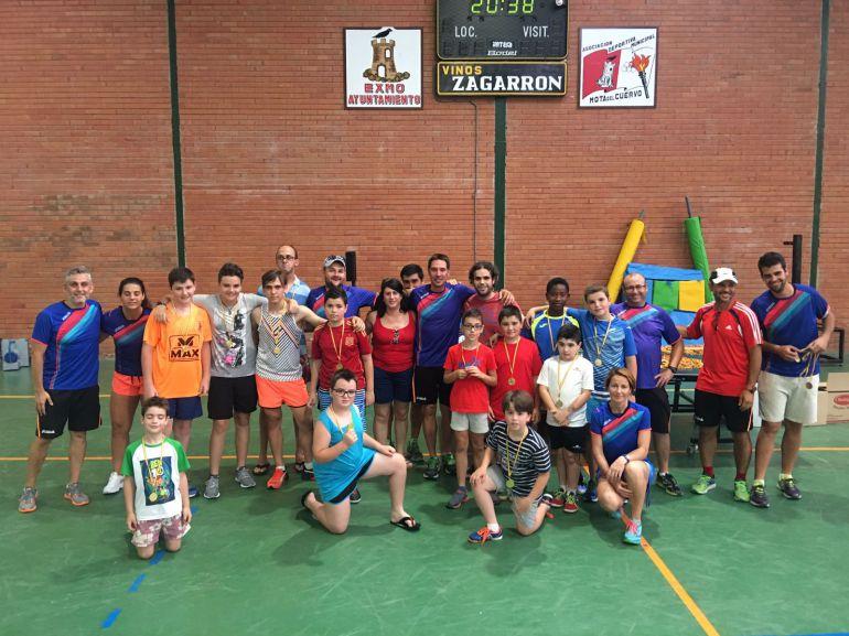 Record de participación en las escuelas deportivas de Mota del Cuervo