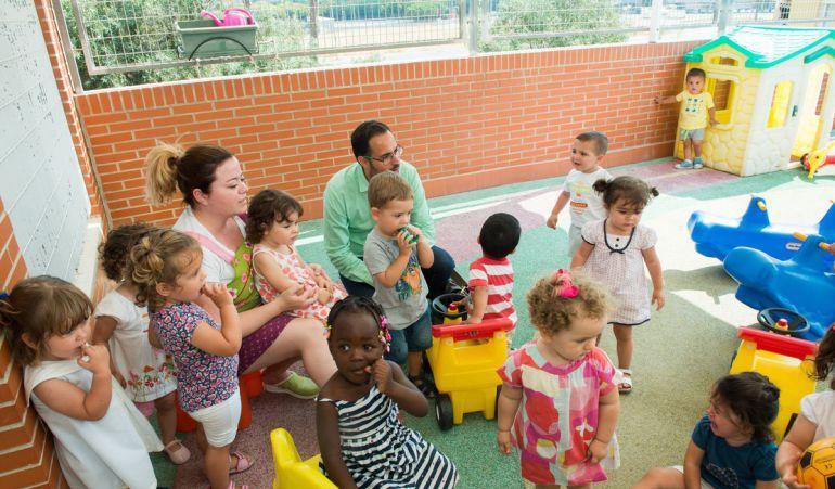 Aumentan las matriculaciones en las escuelas infantiles
