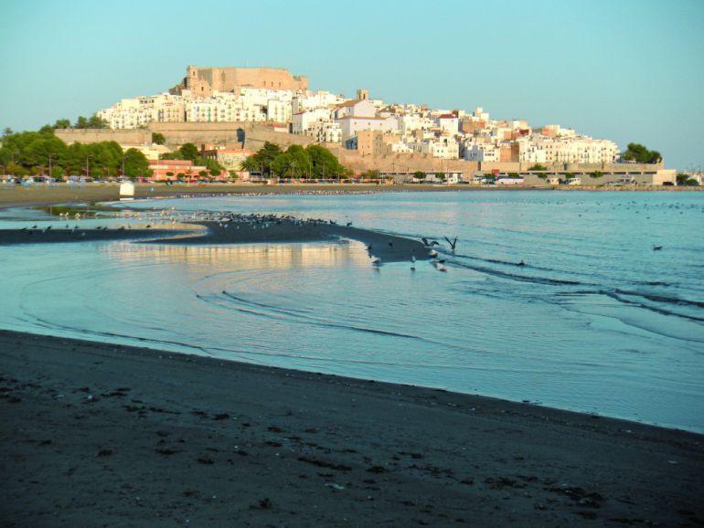 Imagen de archivo de la playa de Peñíscola