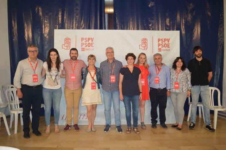 POLÍTICA: Los socialistas de Castellón se hacen fuertes en la ejecutiva general