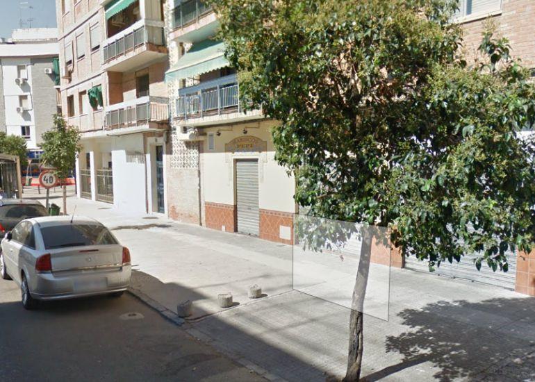 Imagen de la calle de los Cinco Caballeros.