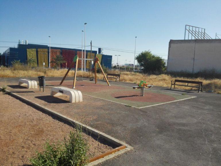 Zona de juegos infantiles de Benitatxel