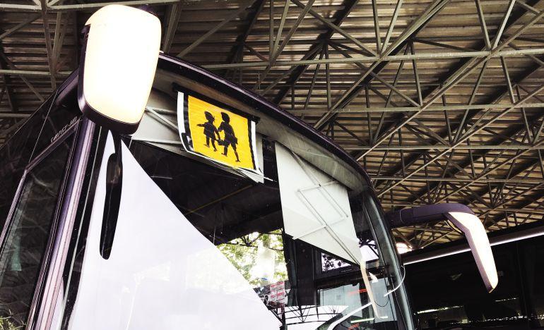 Primera jornada de huelga contra el Plan de Transporte Público de la Xunta
