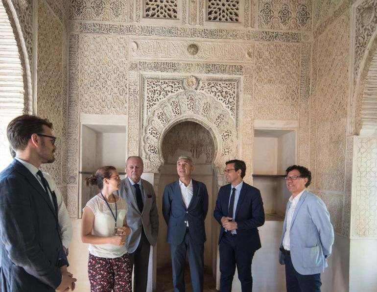 Visita al nuevo espacio rehabilitado en la Alhambra de Granada