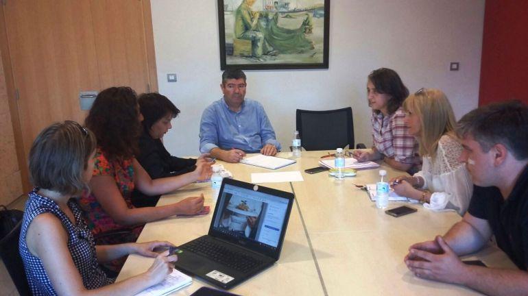 Reunión entre representantes de la Mancomunidad de Municipios de A Mariña y de la FCAM