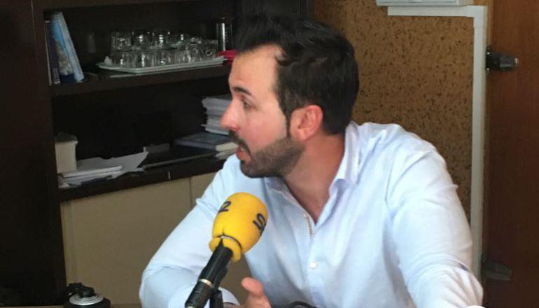 Antonio Ameijide, portavoz del PP en el concello de Lugo