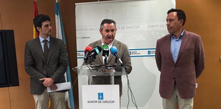 Balseiro, presentando el plan de Sendas de Galicia en Lugo