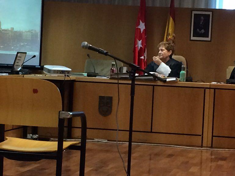 Sala de Vistas de la A.Provincial de Madrid