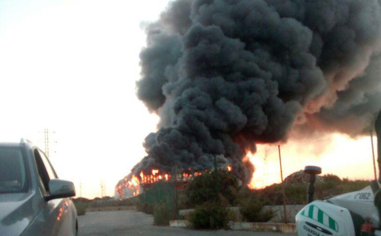 Incendio de la planta TIV