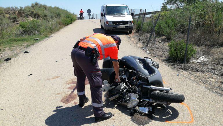 Dos heridos, uno grave, tras una colisión en Fontellas