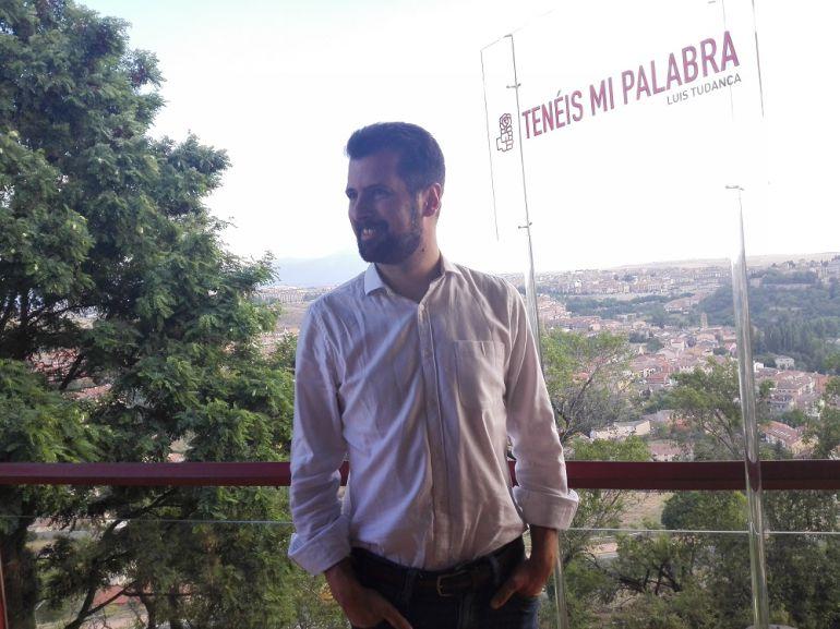 Luis Tudanca, precandidato a la Secretaria General del PSCyL