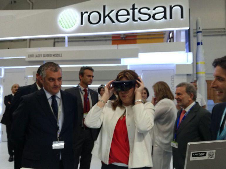 aeronáutica Susana Díaz Andalucía París: El sector aeronáutico andaluz supera los 14.000 empleos