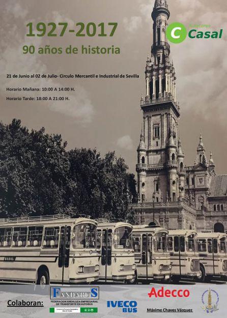 Cartel de la exposición que se va a celebrar en el Círculo Mercantil