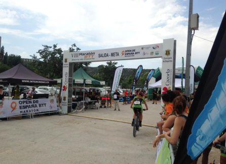 Linea de meta VIII Maraton BTT Sierra de Cazorla