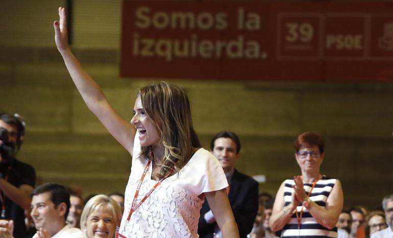 La nueva responsable de Política Municipal del PSOE, Susana Sumelzo. EFE