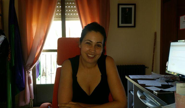 Laura Nieto, alcaldesa de Valdepeñas de Jaén